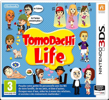 Tomodachi Life. packshot