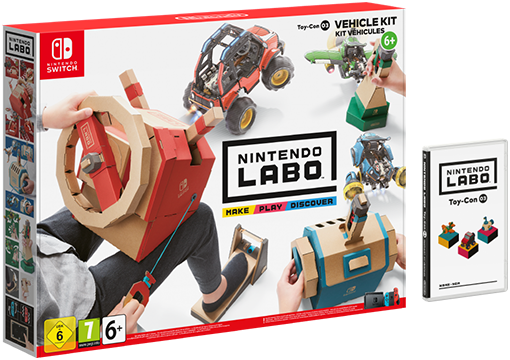 Nintendo Labo (Switch) Pkg_vehicle