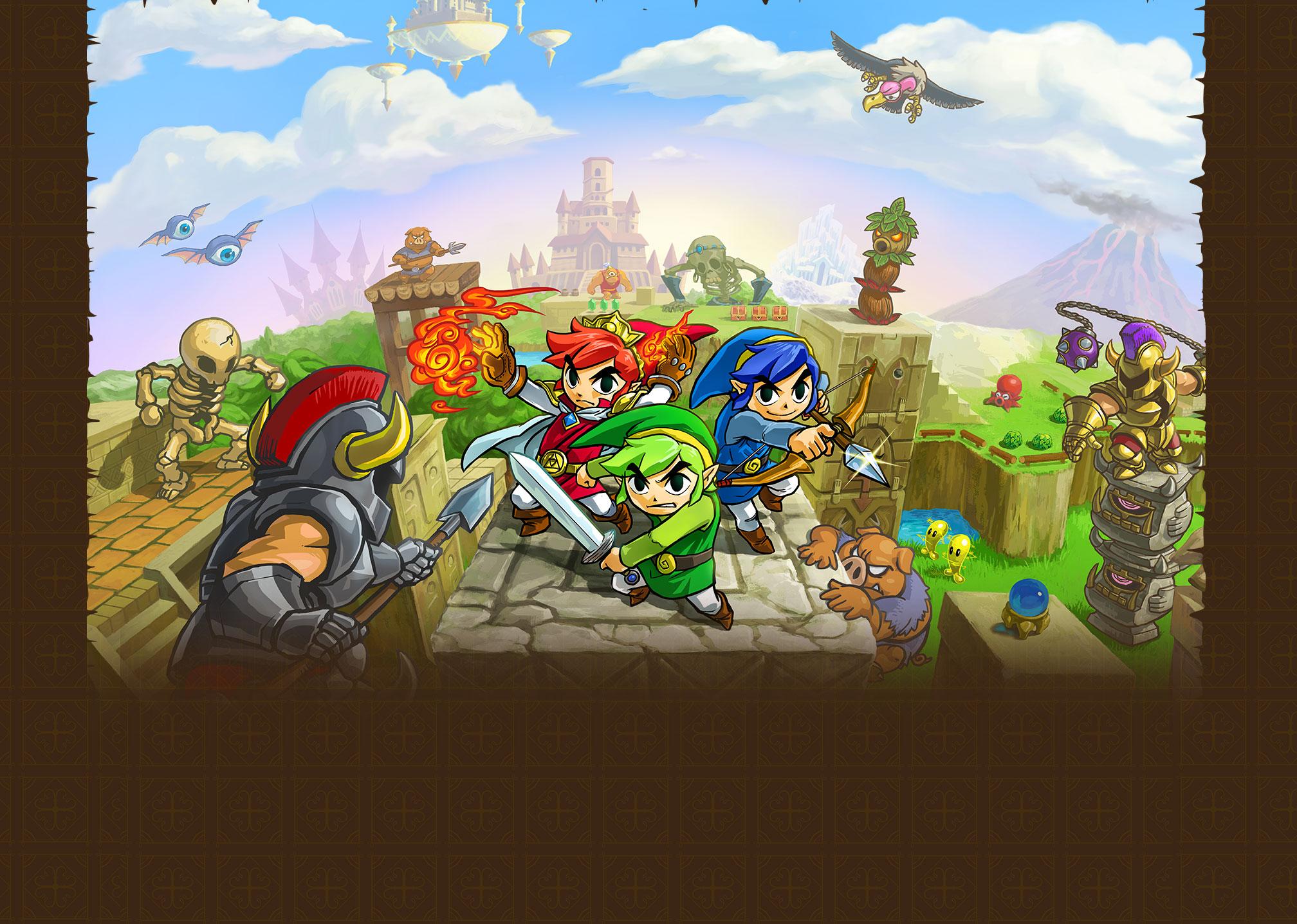 zelda triforce heroes nintendo 3ds