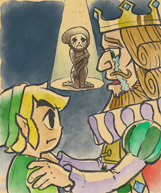 Link and King Tuft